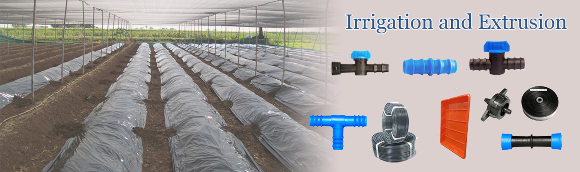 Irrigation and Extrusion